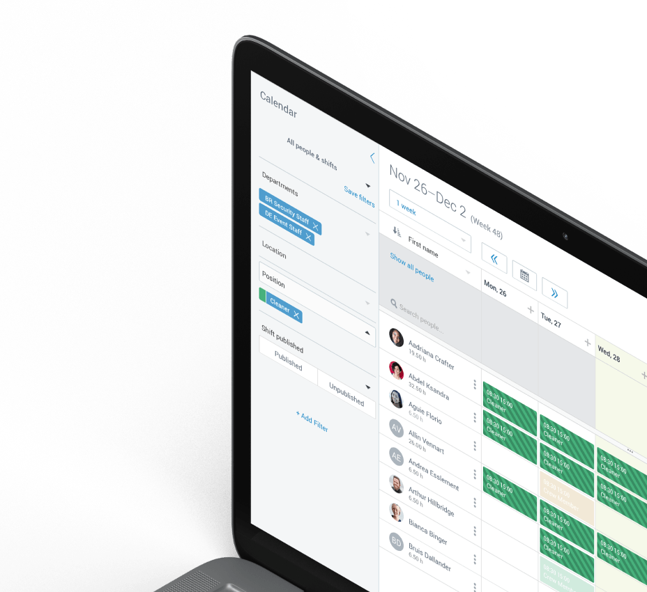 Staff Management Software for Professionals